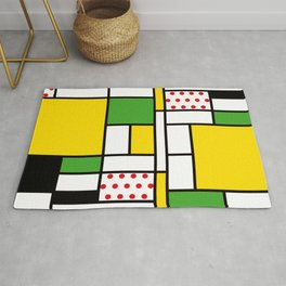 Mondrian - Bycicle Rug