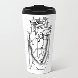 Cubed Heart Travel Mug