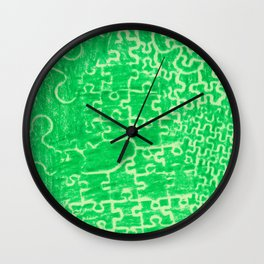 Life is a puzzle 16 Wall Clock