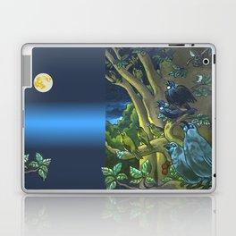 Dawn Chorus in the Primeval New Zealand Wilderness Laptop & iPad Skin