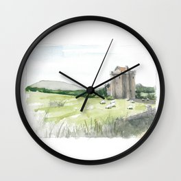 Irish Wool Wall Clock