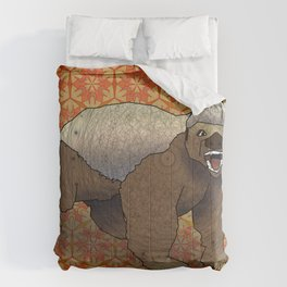 Honey Badger Comforters