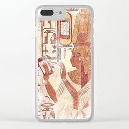Ancient Egypt smartphones Clear iPhone Case