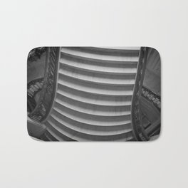 Black & White Staircase Bath Mat