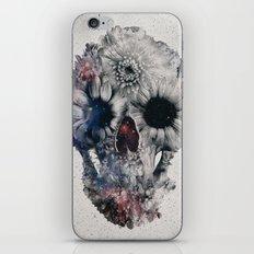 Floral Skull 2 iPhone Skin