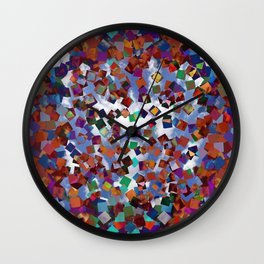 Poof Color Wall Clock