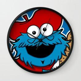 Le Cookie Monsieur Wall Clock