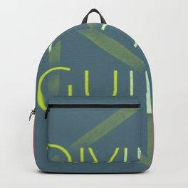 I am divinely guided since 1978 Backpack
