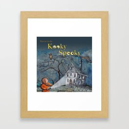 Marvin in the Kooky Spooky House Framed Art Print