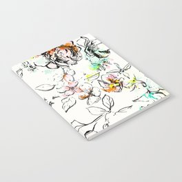 CAMP FLORAL Notebook