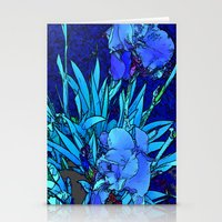 iris Stationery Cards featuring Iris by lillianhibiscus