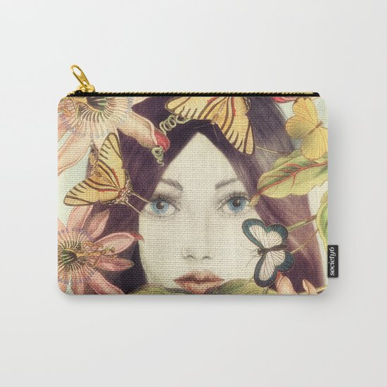 Whispers From A Secret Garden Carry-All Pouch
