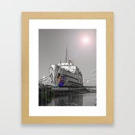 The Duke Lens Flare Pop Framed Art Print