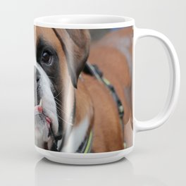 Boxer dog friend Coffee Mug