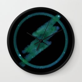 Midnight Speedster Wall Clock