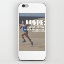 Runners High Running Is Awesome iPhone Skin