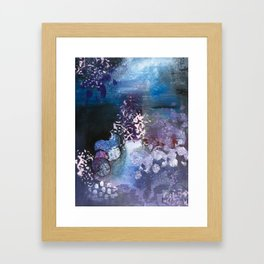 Somewhere To Be Framed Art Print