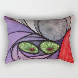 Face 11 Rectangular Pillow