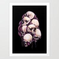 Seven Kings Art Print