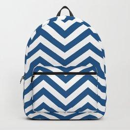 Chevron Blue  -  Pattern -  01 Mix & Match Backpack