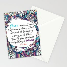 Muse the Nightmares Laini Taylor Stationery Cards