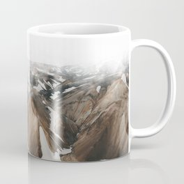 Iceland Snow and Mountains Coffee Mug