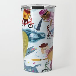 Bicycle love Travel Mug