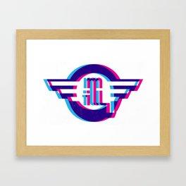 metro illusions - 3D Framed Art Print
