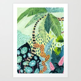 Tropical Jungles Art Print
