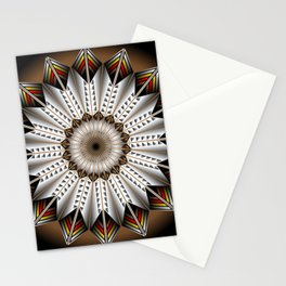 Feather Design Stationery Cards