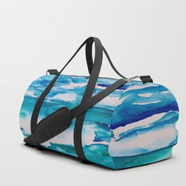 Cabo Beach Mexico Watercolor #2 Duffle Bag