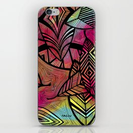 Crazy Leaves  iPhone Skin