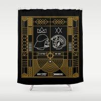 Galactic Balance  Shower Curtain