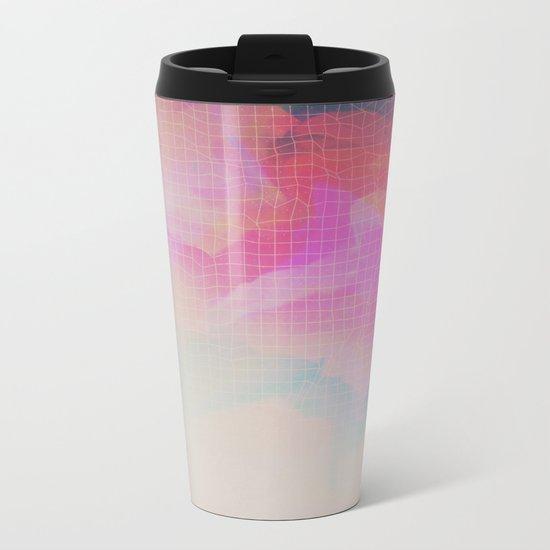 Glitch 09 Metal Travel Mug