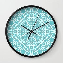 Winter's Spring Dance Print Wall Clock