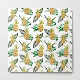 Tropical Vibes Metal Print
