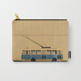Trolleybus & stars Carry-All Pouch