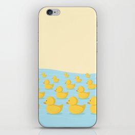 Rubber Duckie Army iPhone Skin