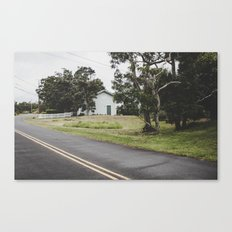 House on the Green - Hilo Canvas Print
