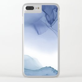Ocean Ink 4 Clear iPhone Case