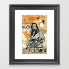 El Tiempo Framed Art Print