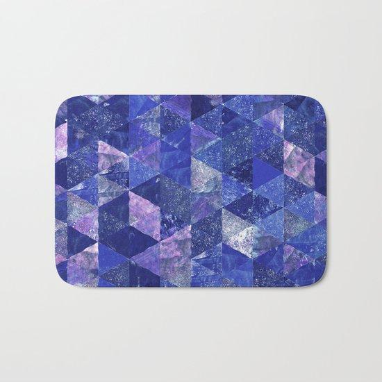 Abstract Geometric Background #19 Bath Mat