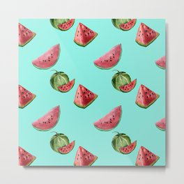 Sweet Watermelon Metal Print