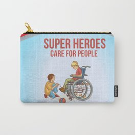 Super Heroes Care For People Carry-All Pouch