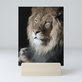 Portrait of a King Mini Art Print