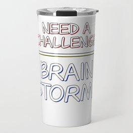 Problem Solving or Brainstorming Tshirt Design Challenge brainstorm Travel Mug