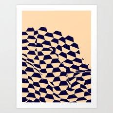 Shipyard Cream — Matthew Korbel-Bowers Art Print