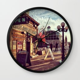 USA Daily Wall Clock