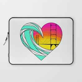 Baker Beach Sunset Laptop Sleeve