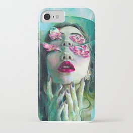 Refraction of the Spotless Mind iPhone Case